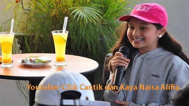 Youtuber Cilik Cantik dan Kaya Naisa Alifia