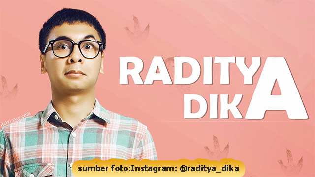 Biodata Terbaru Youtuber Kocak Raditya Dika