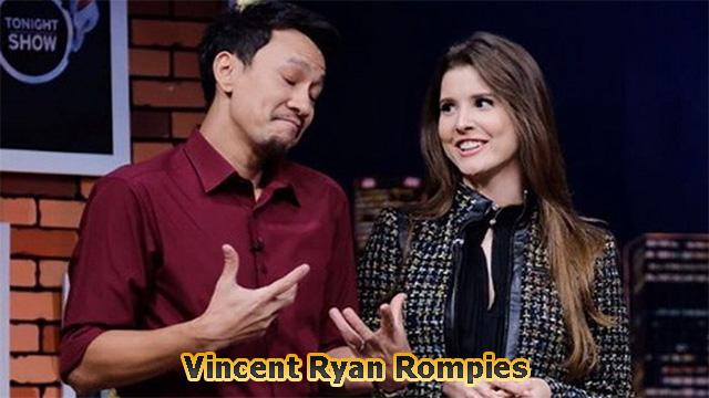 Biodata Terbaru dan Lengkap dari Vincent Ryan Rompies