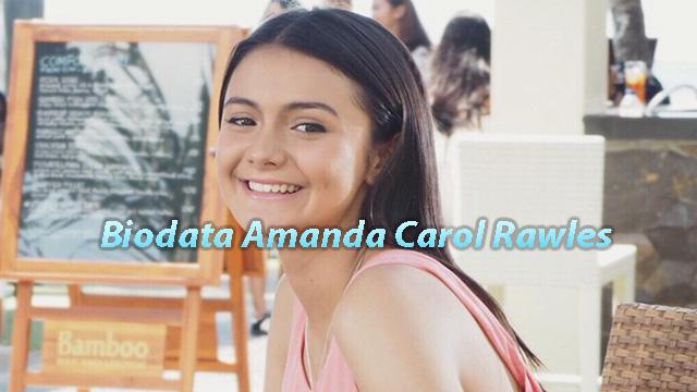 Biodata Amanda Carol Rawles